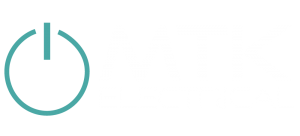 MTK Electrical Logo White